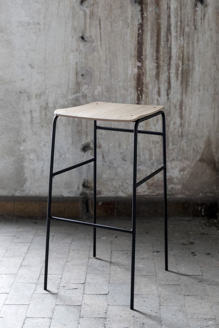 Enjoy the heights - Sincera Bar Stool Two sizes and three colour ways // Bent Hansen