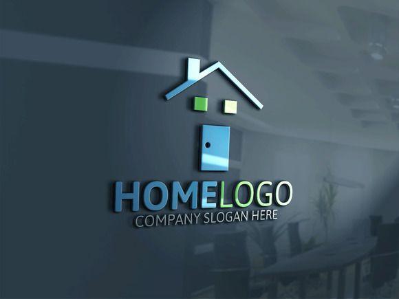 Home Logo by Josuf Media on @creativemarket