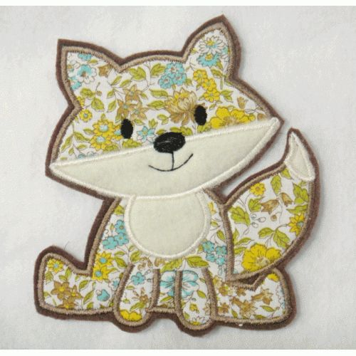 117 best designs i want images on pinterest applique designs fox applique embroidery design dt1010fo
