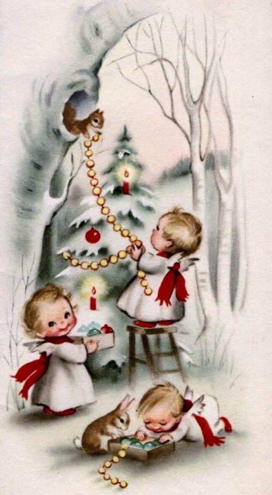 Vintage Christmas card #