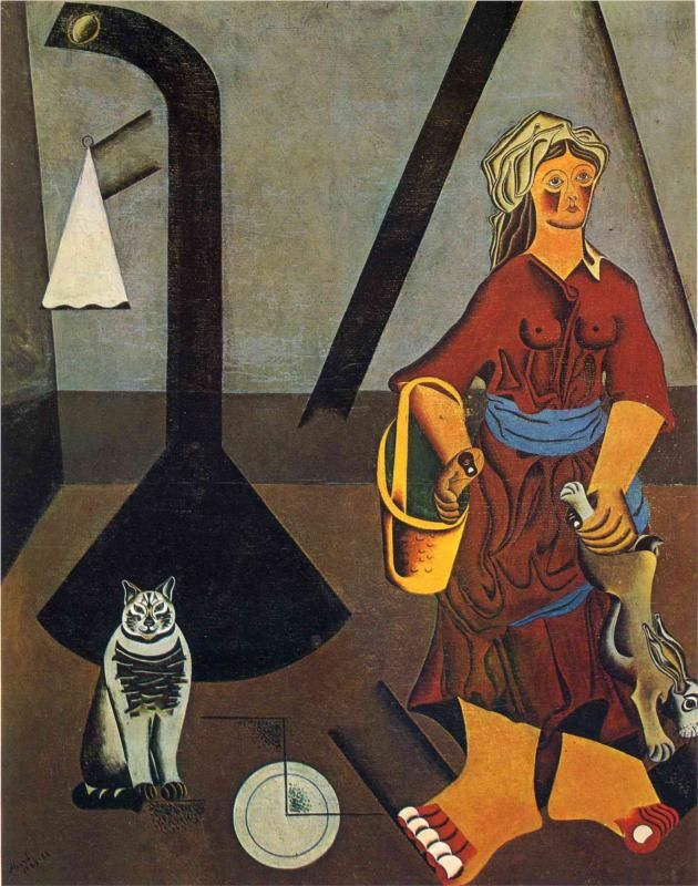The Farmers Wife, 1923 by Joan Miró (Catalan 1893 – 1983)