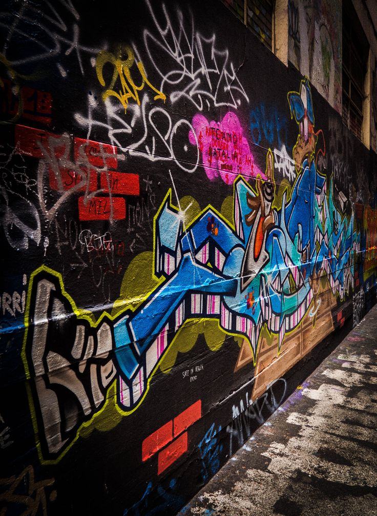 Union Lane, Melbourne Street Art #turnerimagery
