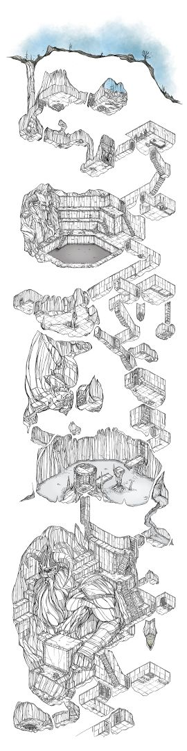 Photo: Another stage of the cavern delve. Thought I'd keep going with this one. Feel free to use.