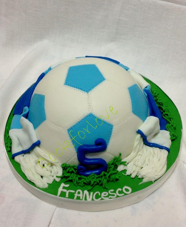 Naples soccer cake