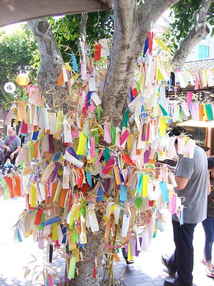 L.A. Japanese Village  Wish Tree