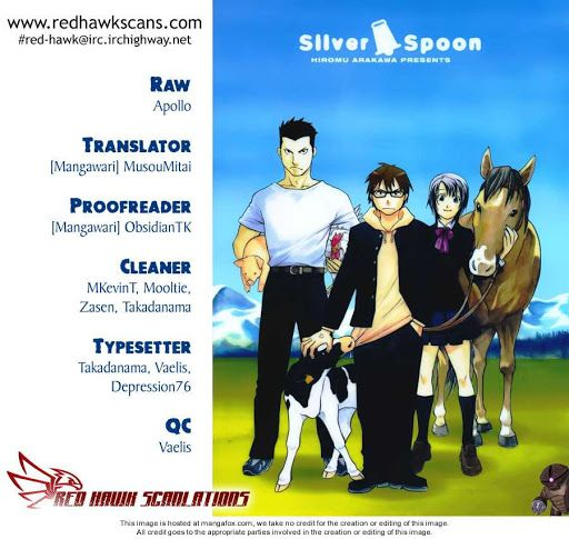Silver Spoon chapter 4