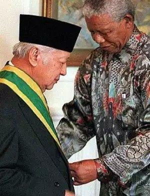 Saat diterima Nelson Mandela