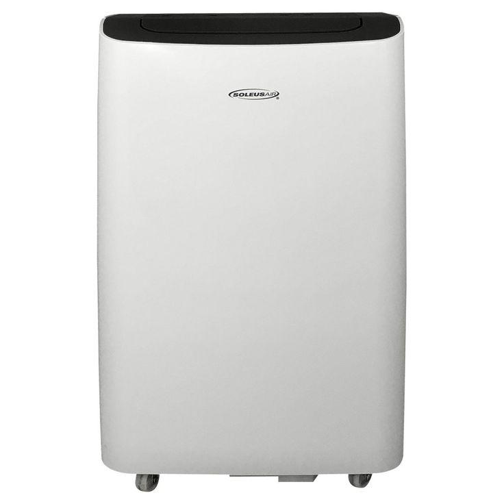 Soleus - 8000 Btu Portable Air Conditioner, White