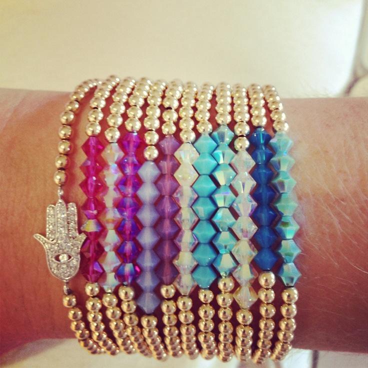 Beaded-sugar.com   Gold plated jewels with Swarovski crystals: Plates Jewels, Jewelry Inspiration, Swarovski Crystals, Crystals Support, Jewelry 3