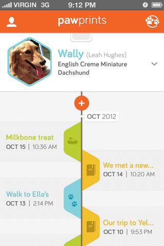 Information Visualization: There are many ways to visualize content on mobile devices to make it engaging. Example: timeline - mobile