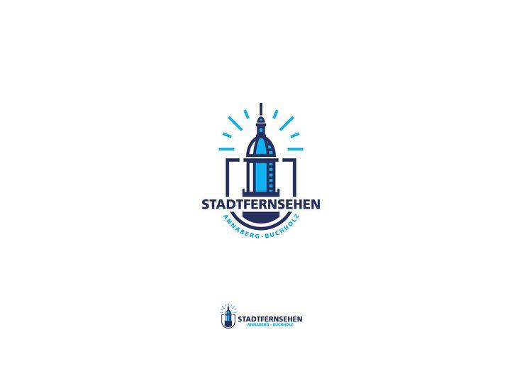 Stadtfernsehen Annaberg logo concept