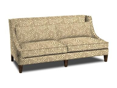Love This Massoud Fabric! You Can Pick It For Almost Any Piece You Get!  SofasBlack White