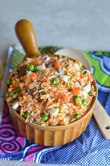 Jellof Rice   A West African meal