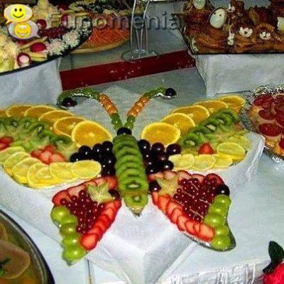 Fruit Butterfly, Fruit Tray Ideas   Is This Awesome Or What?