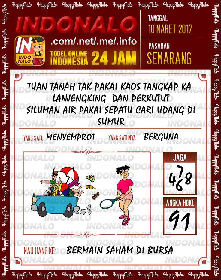 Kode Alam 2D Togel Wap Online Indonalo Semarang 10 Maret 2017