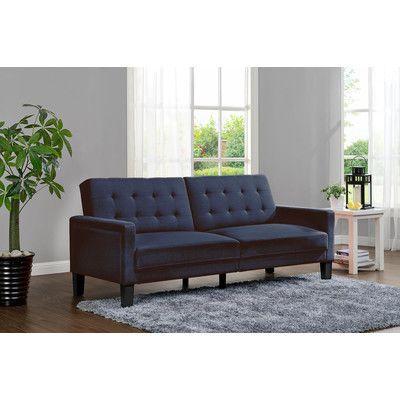 Dhp Paris Convertible Futon Reviews Wayfair Guest Room Pinterest Furniture Modern And Sofa Bed