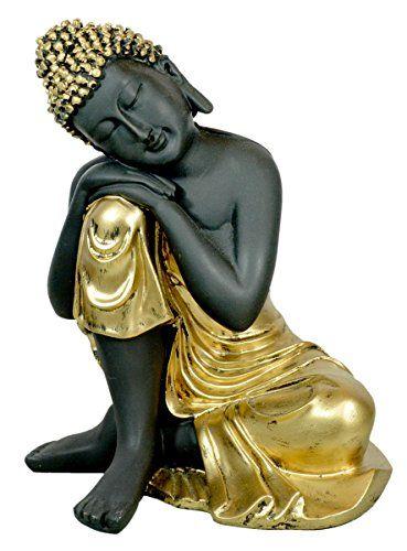 Antique Lord Buddha Resting on Knees Resin Idol Statue - 8.8 Inches Krishna Mart India http://www.amazon.com/dp/B00YXPEVIK/ref=cm_sw_r_pi_dp_ghOEvb1TAV339