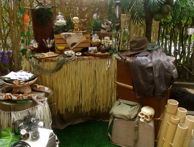 Indiana jones theme decorations pictures to pin on pinterest pinsdaddy - Indiana jones party decorations ...