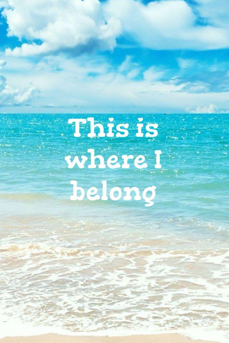 Cute beach quote