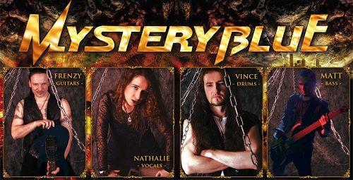 NEWS : MYSTERY BLUE - Album Release Date, Cover Artwork, Track Listing Revealed - Femme Metal Webzine