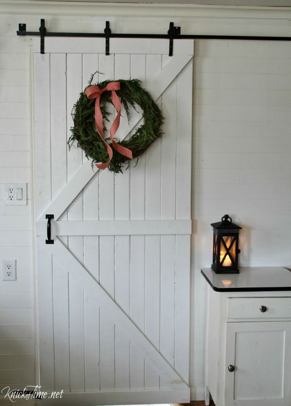 17 best images about barn doors on pinterest sliding for Barn door decorating ideas