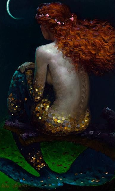 Who would be A mermaid fair, Singing alone, Combing her hair Under the sea, In a golden curl With a comb of pearl, On a throne? ~Lord Alfred Tennyson~