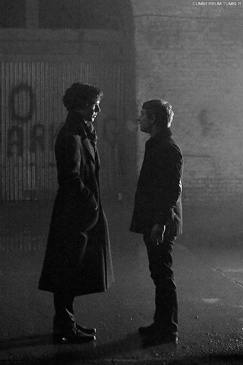 Sherlock and John - Seriously my favorite characters ever...but shhh don't tell the others!