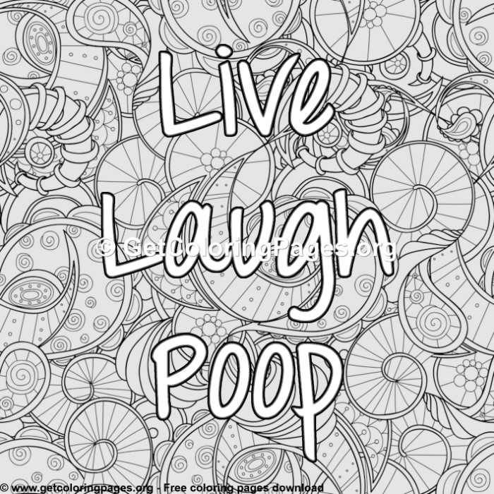 Free Funny Coloring Pages