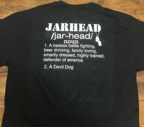 Jarhead Shirt Marine Corps Shirt Devil Dog