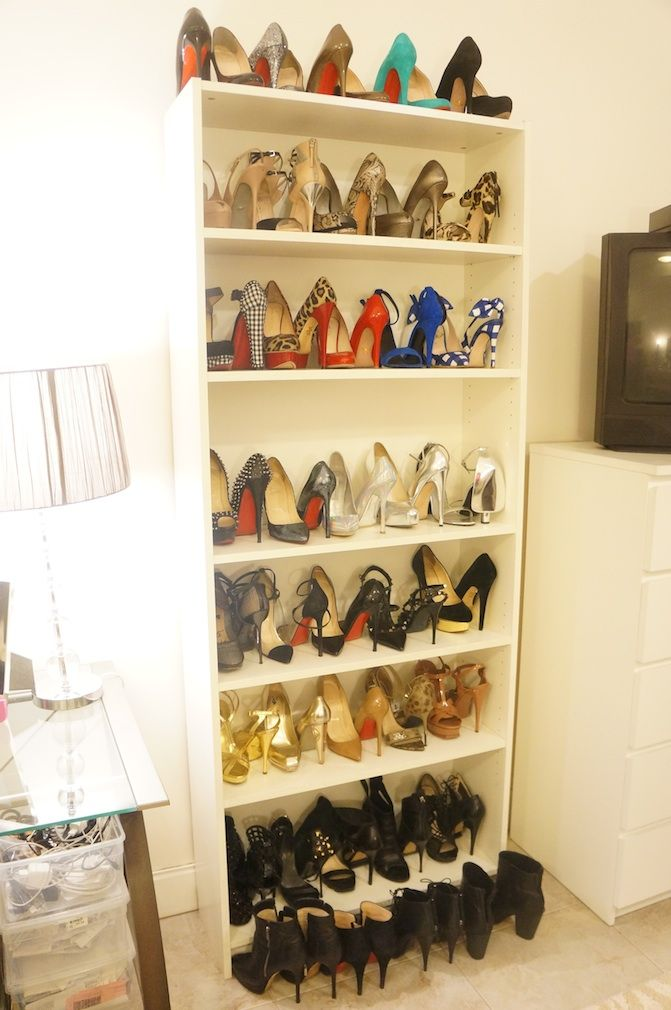make room for more stilettos you 39 ll gain more shelf space