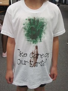 Earth Day Shirts...with steps to follow