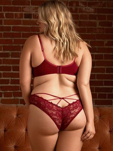 da827f514721 Olivia Strappy Back Lace Panty | Chicks | Hips, curves, Lace bra