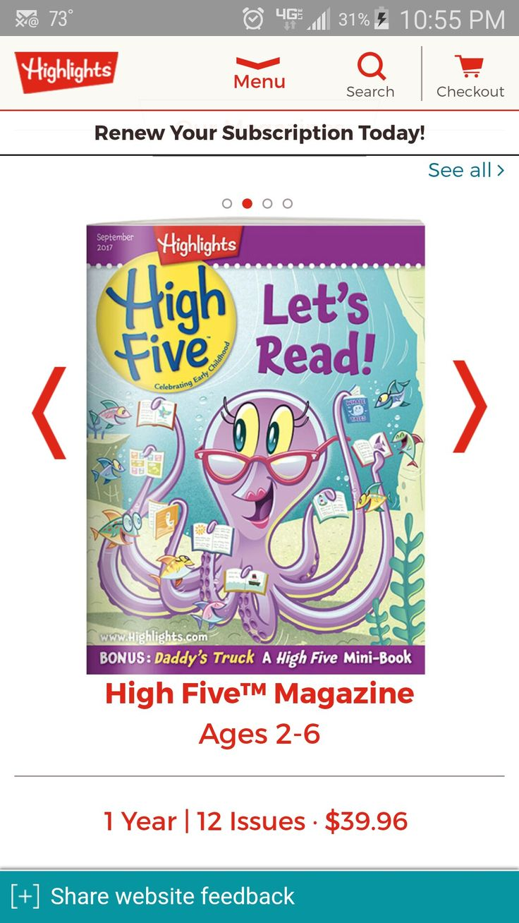 Highlights High Five Magazine - highlights.com