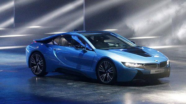 BMW i8 plug-in hybrid - Yahoo! Autos