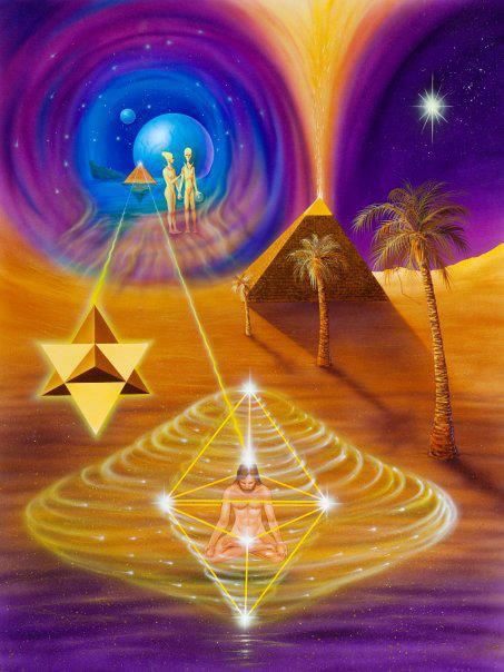 Keep #meditating! You have to synchronize the Heart & the Pineal gland to activate the Mer-Ka-Ba! Do your research!!!