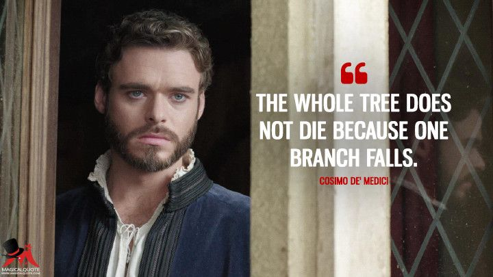 Fiesta esquina Detectar  The whole tree does not die because one branch falls. - MagicalQuote |  Richard madden shirtless, Film quotes, Richard madden