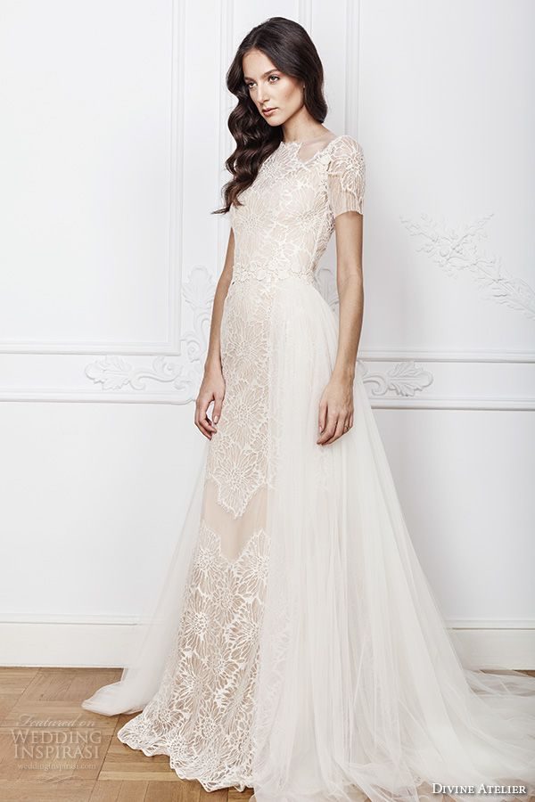 Fine Wedding Gowns With Short Sleeves Collection - Top Wedding Gowns ...