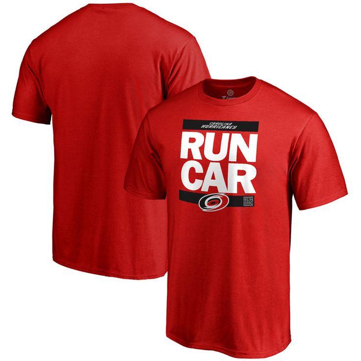 Carolina Hurricanes RUN-CTY T-Shirt - Red