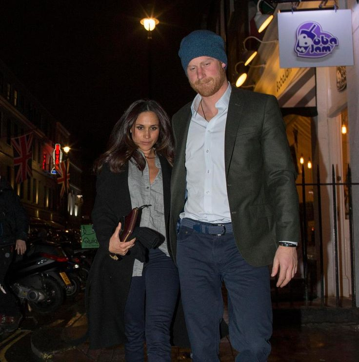 thesun: Prince Harry and girlfriend Meghan Markle were spotted on a date in London, February 1, 2017