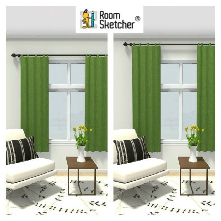 Want To Make Your Ceiling Look Higher? Create The Effect By Hanging Your  Curtain Rods