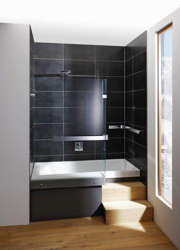 17 best images about bathroom ideas on pinterest tub for Rectangular bathroom designs