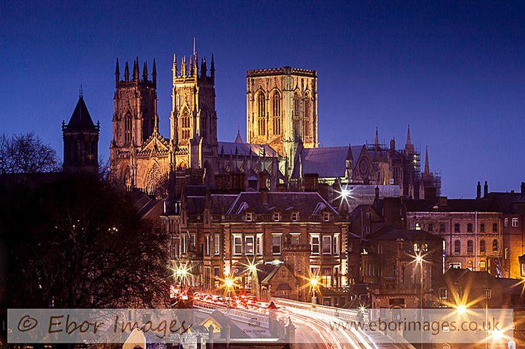 York Minster Skyline - York www.eborimages.co.uk