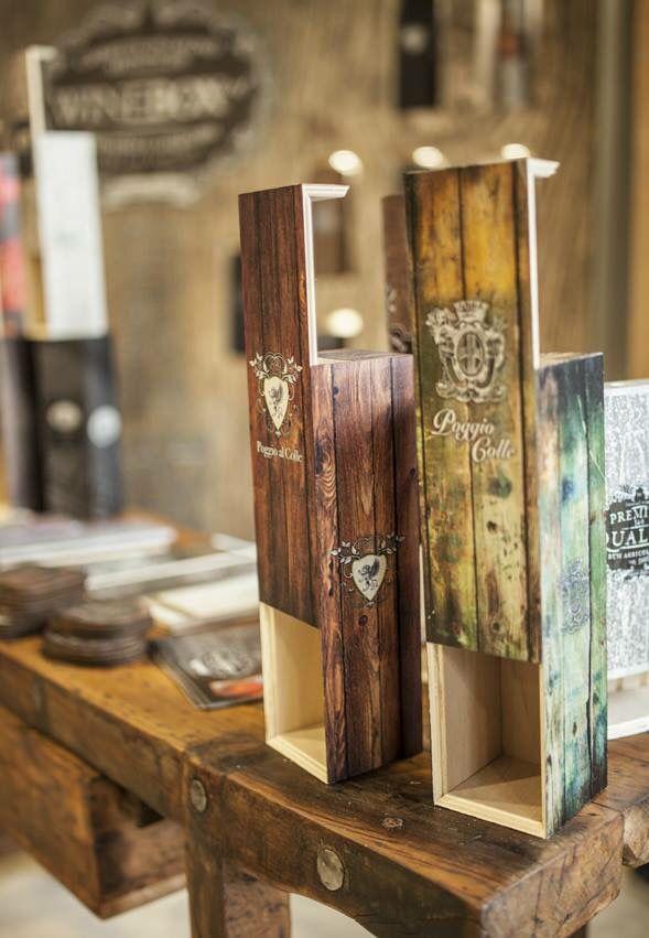 wine box art - scatole in legno artistiche