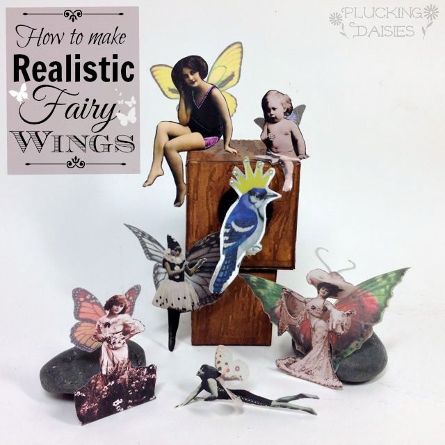 How to Make Realistic Fairy and Butterfly Wings | Pluckingdaisies.com