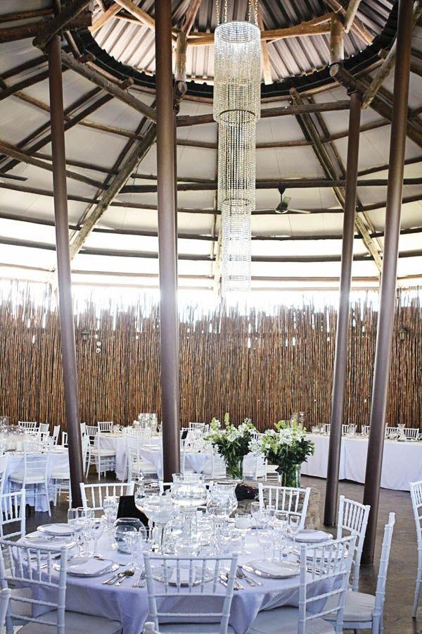 African wedding decor.