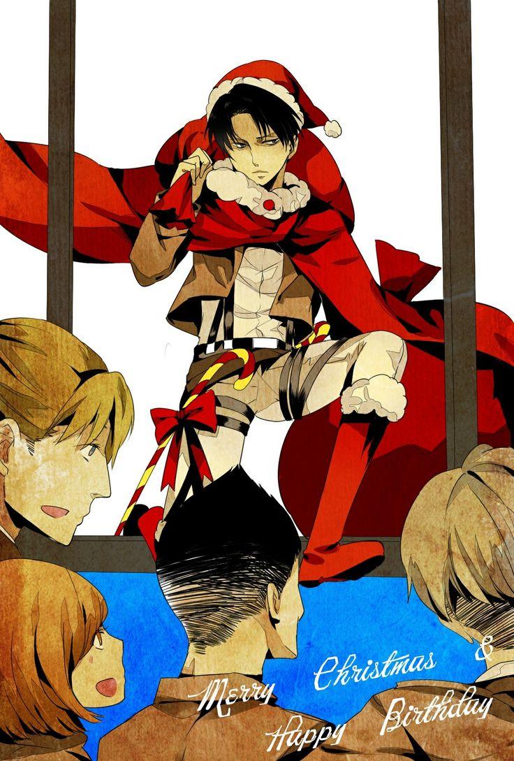 Shingeki no Kyojin (Attack on Titan). Christmas!