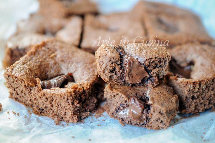 Tortine morbide alla nutella e cacao facili e veloci
