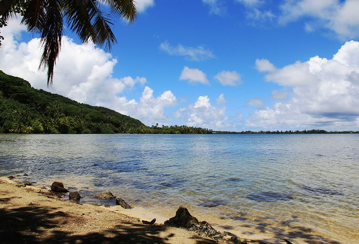 """Wandkalender """"Französisch-Polynesien - Trauminseln im Südpazifik"""", Kalenderblatt Oktober: Huahine"""