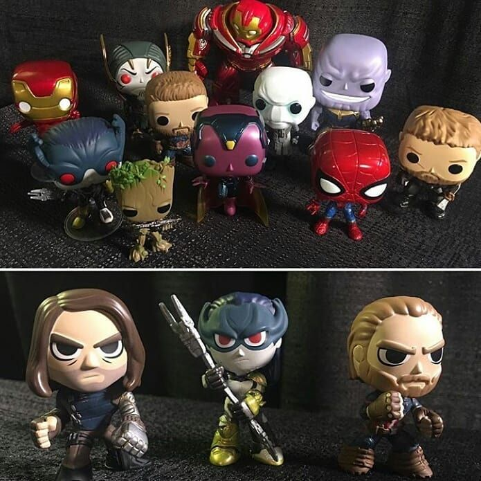 Here's a look at the Hot topic exclusives Mistery minis and the common pops plus the visión exclusive /  Aquí hay un vistazo a los Mistery minis exclusivos de Hot topic y los pops comunes incluyendo el Vision exclusivo   Via @sw_up_wir20  #TheGeekPower  . . . FOLLOW FOR MORE @The_geek_power #Funkopop #funko #funkofan #funkopops #funkomania #blackpanther #funkopopvinyl #funkopopph #funkopopvinyls #gotg #gotg2  #starlord #blackorder #thanos #Blackwidow #marvellegends #tomholland #thor…