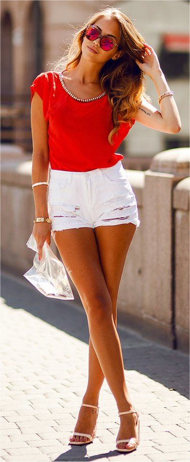 De 67 bästa Short Shorts and High Heels-bilderna på Pinterest